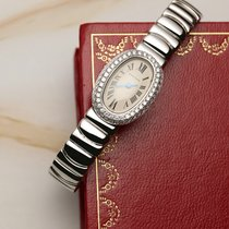 Cartier 2369 White gold 2005 Baignoire 18mm pre-owned