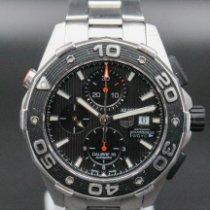 TAG Heuer Aquaracer Steel Black No numerals
