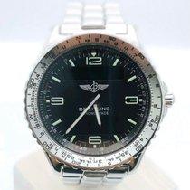 Breitling Chronospace Steel Black Arabic numerals