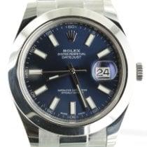 Rolex Datejust II usados 41mm Azul Fecha Acero