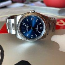 Rolex Oyster Perpetual 36 Acier 36mm Bleu Arabes France, Bastia