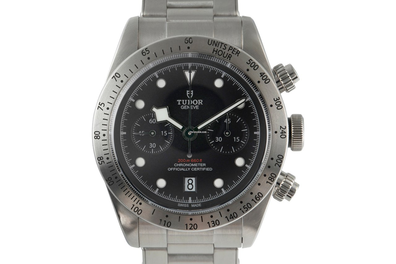 Tudor Black Bay Chrono 79350 2018 usados