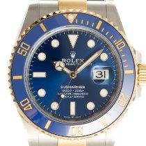 Rolex Submariner Date 126613LB Muito bom Ouro/Aço 40.5mm Automático