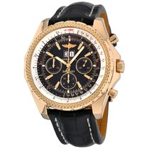 Breitling Bentley 6.75 Yellow gold 49mm Black No numerals United States of America, New York, Greenvale