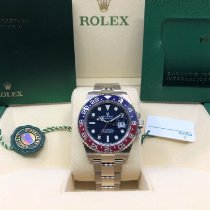 Rolex GMT-Master II White gold 40mm Blue No numerals United States of America, Illinois, Springfield