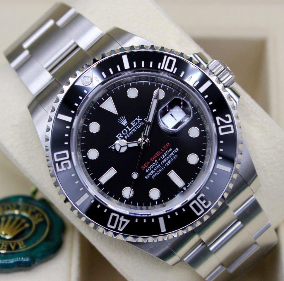Rolex Sea-Dweller 4000 126600 2021 nov