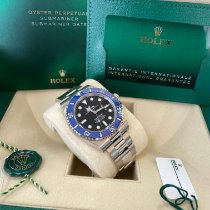 Rolex Submariner Date White gold 41mm Black No numerals United States of America, New Jersey, Totowa