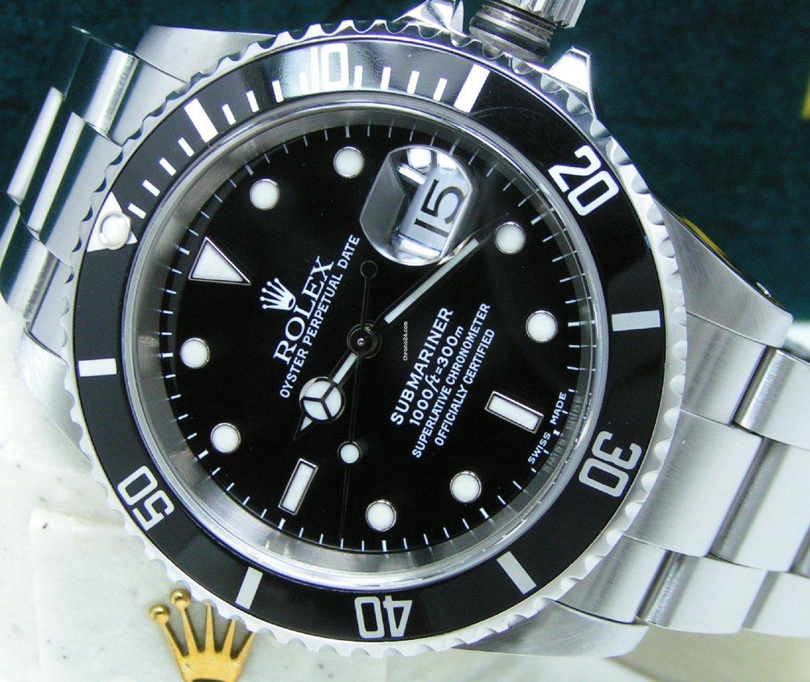 Rolex Submariner Date 16610 2000 new