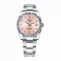 Rolex Oyster Perpetual Date Сталь 34mm Розовый