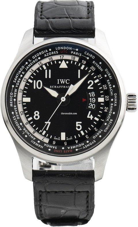 IWC Pilot Worldtimer IW326201 2013 usados