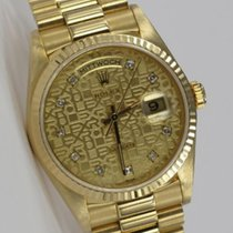 Rolex Day-Date 36 Yellow gold No numerals