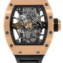 Richard Mille RM 035 Rose gold 48mm Transparent No numerals United States of America, Florida, Hollywood