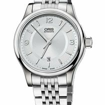 Oris Classic Steel 42mm Silver Arabic numerals United States of America, New York, Monsey