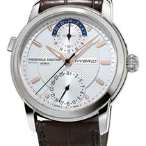 Frederique Constant Horological Smartwatch Steel 42mm Silver United States of America, New York, Monsey