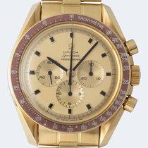Omega Speedmaster Professional Moonwatch Sarı altın 42mm Altın Rakamsız