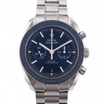 Omega Speedmaster Professional Moonwatch Titanium 44.3mm Blue