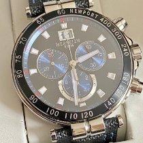 Michel Herbelin Newport Yacht Club Steel 42mm Black No numerals