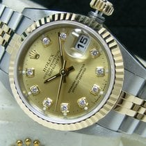 Rolex Lady-Datejust Gold/Steel 26mm Champagne No numerals United States of America, Pennsylvania, HARRISBURG