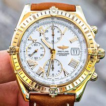 Breitling Crosswind Racing Yellow gold 42.7mm White Roman numerals United States of America, Texas, Plano
