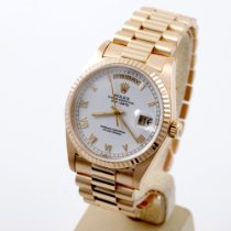 Rolex Day-Date 36 Yellow gold 36mm White No numerals United States of America, California, Los Angeles