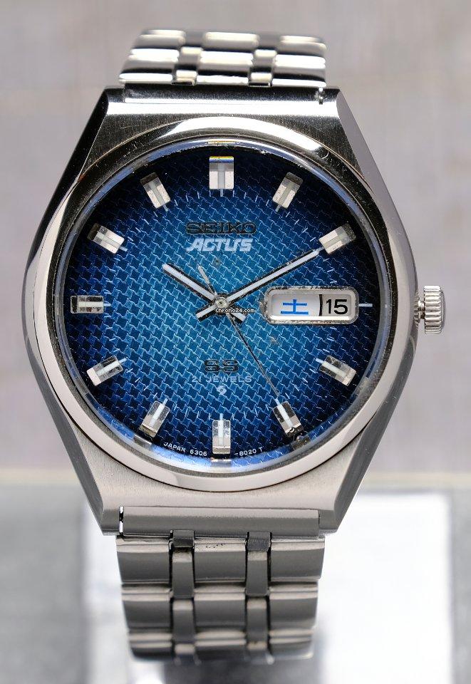 Seiko 6306-8030 1976 pre-owned