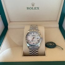 Rolex Oyster Perpetual Date Steel 36mm Silver No numerals UAE, 0000