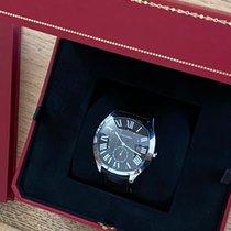 Cartier Drive de Cartier Acier 40mm Noir Romains
