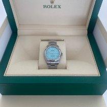 Rolex Oyster Perpetual 31 Acier 31mm Argent Sans chiffres France, Saint tropez