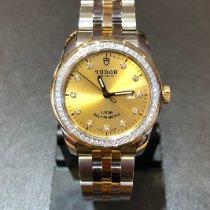 Tudor Glamour Date Acero y oro 31mm Champán