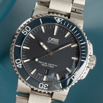 Oris Aquis Date Steel 43mm Blue