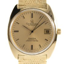 Omega Constellation ikinci el 33mm Altın Takvim Sarı altın