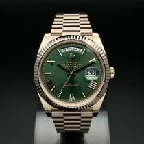 Rolex (ロレックス) デイデイト 40 新品 2021 自動巻き 正規のボックスと正規の書類付属の時計 228235