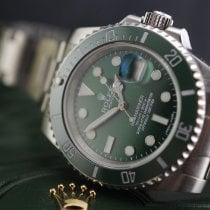 Rolex Submariner Date 116610LV Nagyon jó Acél 40mm Automata