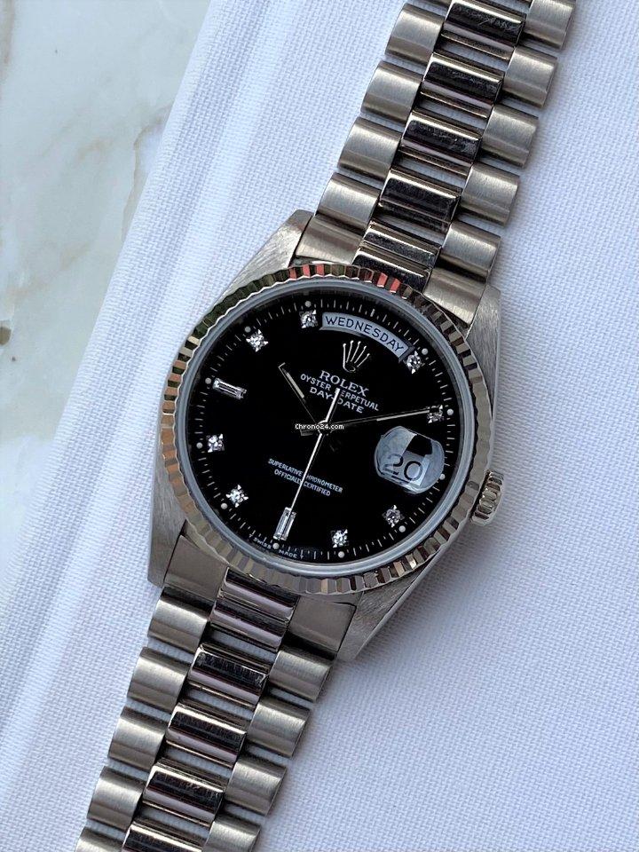 Rolex Day-Date 36 18239 1990 tweedehands