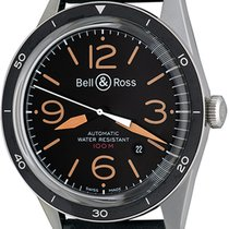 Bell & Ross Vintage Steel 43mm Black Arabic numerals United States of America, Texas, Dallas