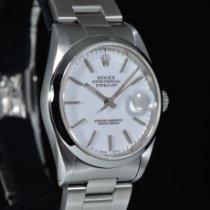 Rolex Datejust Acciaio 36mm Bianco Italia, Milano