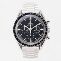 Omega Speedmaster Professional Moonwatch pre-owned 42mm Black Chronograph Steel