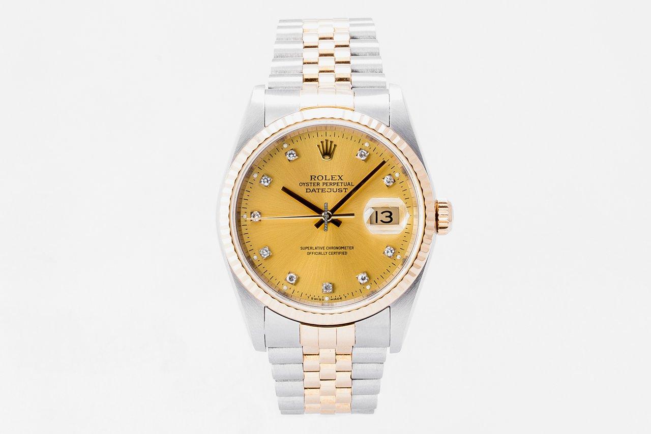 Rolex Datejust 16233 2004 подержанные