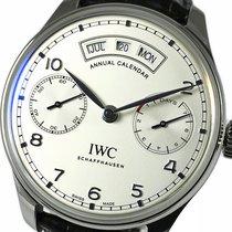 IWC Portuguese Annual Calendar Steel 44.2mm Arabic numerals