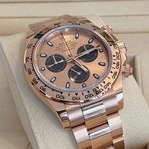 Rolex Daytona Rose gold 40mm Pink No numerals
