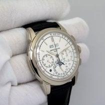 Patek Philippe Perpetual Calendar Chronograph Or blanc 41mm Argent