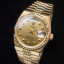 Rolex Day-Date Oysterquartz Geelgoud Goud