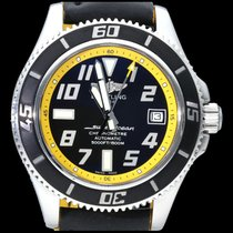 Breitling Superocean 42 Steel 42mm Black Arabic numerals