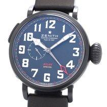 Zenith Pilot Type 20 GMT 96.2430.693/21.C703 Very good Titanium 48mm Automatic