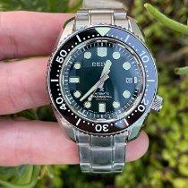 Seiko Steel Automatic Green No numerals new Prospex