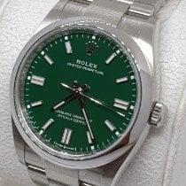 Rolex Oyster Perpetual 36 Steel 36mm Green No numerals UAE, Sharjah