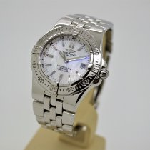 Breitling Starliner Steel 30mm Mother of pearl No numerals