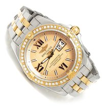 Breitling Galactic 41 Gold/Steel 41mm Red Roman numerals United States of America, Louisiana, Shreveport