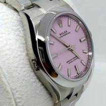 Rolex Oyster Perpetual 31 Steel 31mm Pink No numerals UAE, Sharjah