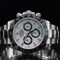 Rolex gebraucht Automatik 40mm Weiß Saphirglas 10 ATM